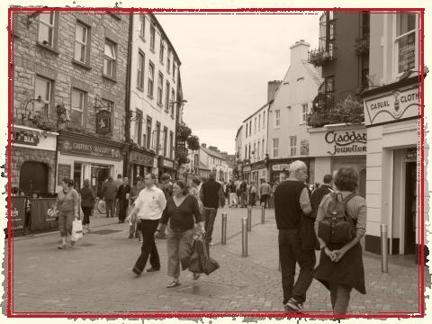 Galway City Centre Streets